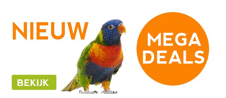 Bekijk alle megadeals van Vogel wereld!